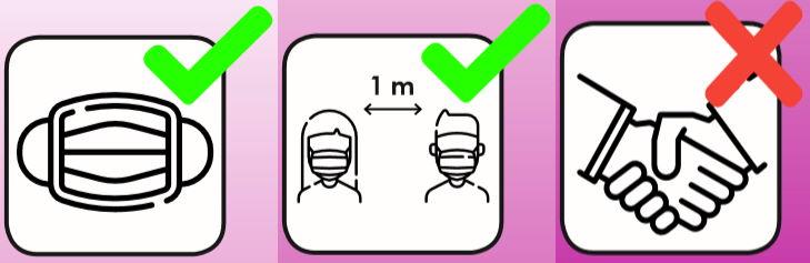 Virenschutz Piktogramme