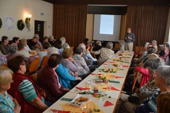 Vortrag Kurt Schlieben zur Geschichte der Evangelischen im Triestingtal