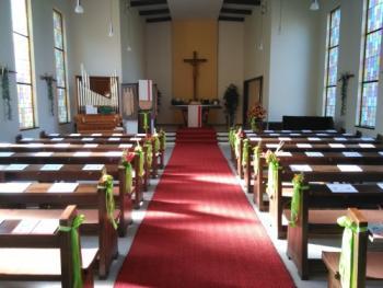 20170604 Dreieinigkeitskirche vor Beginn der Konfirmation